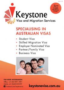 Keystone Australian Visas